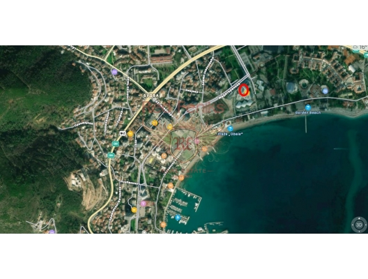 One Bedroom Apartment in Budva in the Front Line, apartments for rent in Becici buy, apartments for sale in Montenegro, flats in Montenegro sale