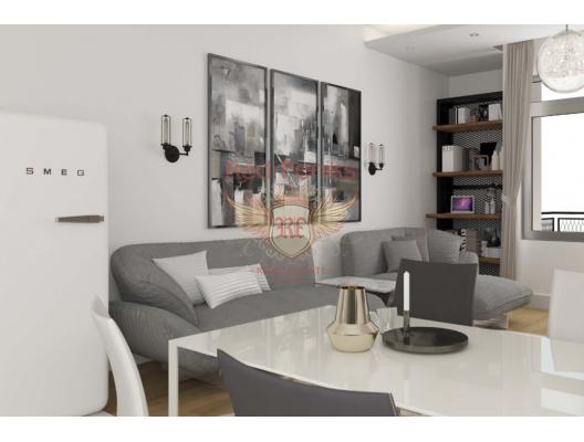 Budva'da Yeni Konut Kompleksi, Becici da ev fiyatları, Becici satılık ev fiyatları, Becici da ev almak