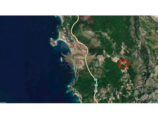Blizikuce'de panoramik arsa, Karadağ Arsa Fiyatları, Budva da satılık arsa, Kotor da satılık arsa