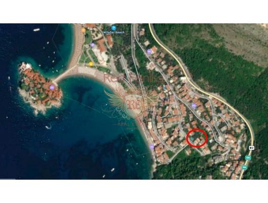 Sveti Stefan'da 1+1 Daire, Karadağ satılık evler, Karadağ da satılık daire, Karadağ da satılık daireler