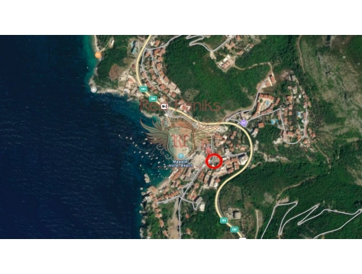 New complex in Przno, sea view apartment for sale in Montenegro, buy apartment in Becici, house in Region Budva buy