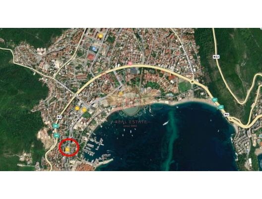 Budva'da mükemmel ticari alan, karadağ da satılık dükkan, montenegro satılık cafe
