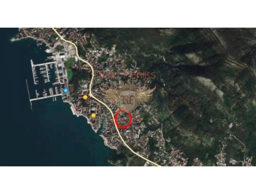 Tivat'ta Kentsel Arsa, Karadağ Arsa Fiyatları, Budva da satılık arsa, Kotor da satılık arsa