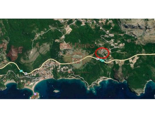 Blizikuce'de Mükemmel Panoramik Deniz Manzaralı Villa, Region Budva satılık müstakil ev, Region Budva satılık müstakil ev