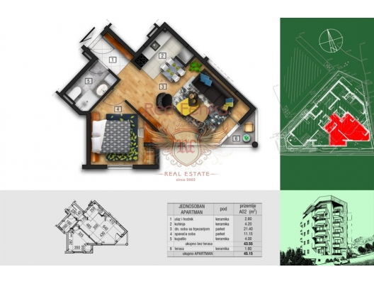 New Residential Complex in Becici, sea view apartment for sale in Montenegro, buy apartment in Becici, house in Region Budva buy