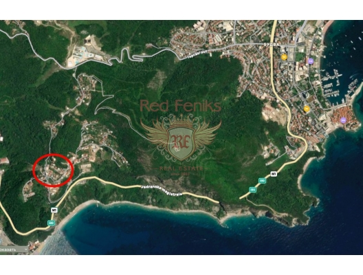 House for renovation in Seoce, Becici house buy, buy house in Montenegro, sea view house for sale in Montenegro