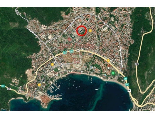 One Bedroom Apartment In Budva With Sea View, sea view apartment for sale in Montenegro, buy apartment in Becici, house in Region Budva buy