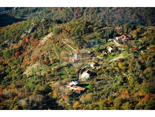 Urbanised plot in Stanisici, building land in Region Budva, land for sale in Becici Montenegro