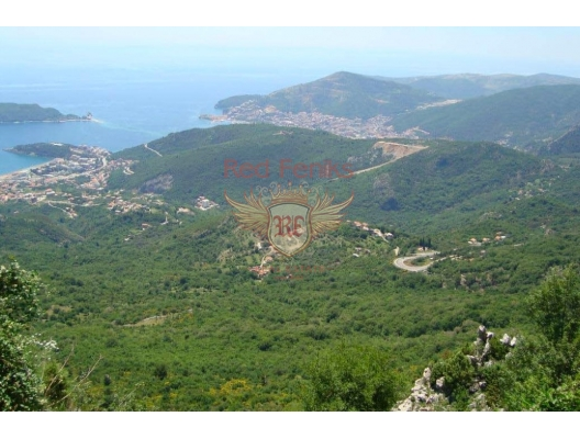 For sale urbanised plot with sea view in Stanisici, Budva The village is located in the small village of Stanisici, just 6 km from Budva.