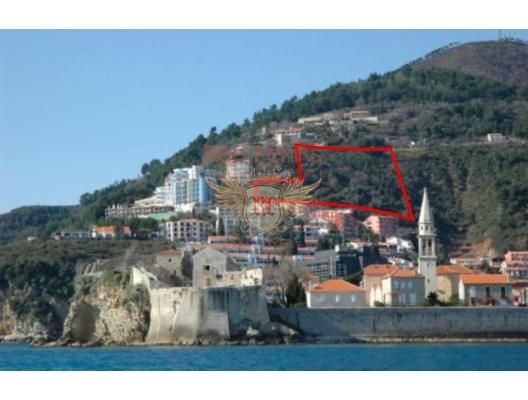 Urbanised plot in Budva, Gospostina, Montenegro real estate, property in Montenegro, buy land in Montenegro