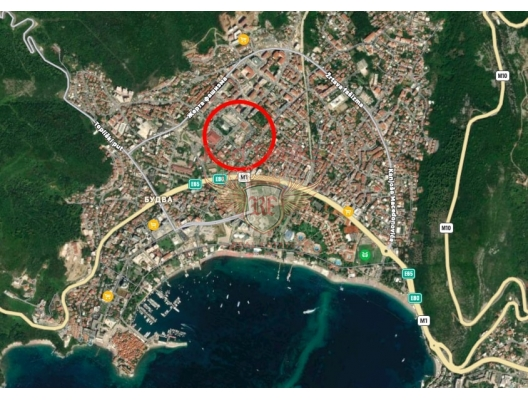 One-bedroom apartments in a complex under construction in the center of Budva, apartments for rent in Becici buy, apartments for sale in Montenegro, flats in Montenegro sale