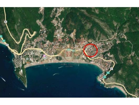 Apartment mit zwei Schlafzimmern Becici, Wohnungen in Montenegro kaufen, Wohnungen zur Miete in Becici kaufen