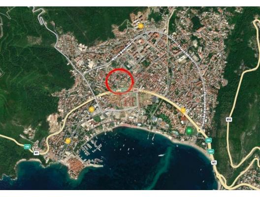Apartment mit zwei Schlafzimmern in Budva, Wohnungen in Montenegro kaufen, Wohnungen zur Miete in Becici kaufen