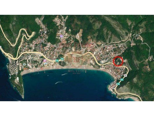 Two Bedroom Apartment with Beautiful Sea View in Rafailovici, sea view apartment for sale in Montenegro, buy apartment in Becici, house in Region Budva buy