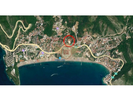 One Bedroom Apartment in Complex in Becici, hotel residence for sale in Region Budva, hotel room for sale in europe, hotel room in Europe