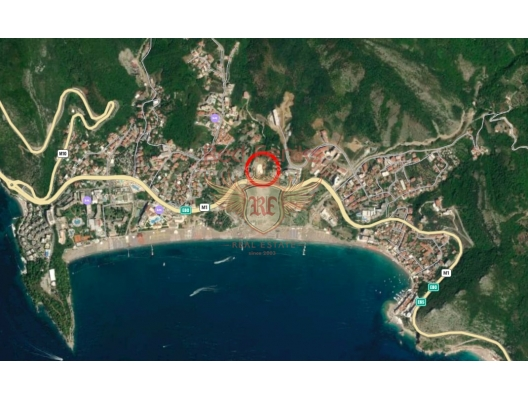 New Luxury Hotel Residential Complex in Becici, hotel residences for sale in Montenegro, hotel apartment for sale in Region Budva