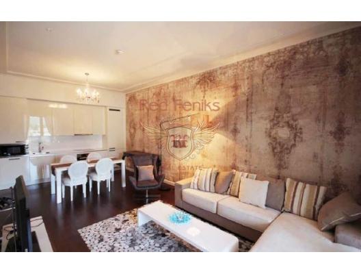 Tivat da 66 m2 Luks Daire, karadağ da kira getirisi yüksek satılık evler, avrupa'da satılık otel odası, otel odası Avrupa'da
