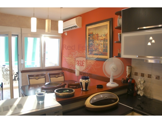 Three Bedroom Apartment in the Center of Tivat, apartments in Montenegro, apartments with high rental potential in Montenegro buy, apartments in Montenegro buy