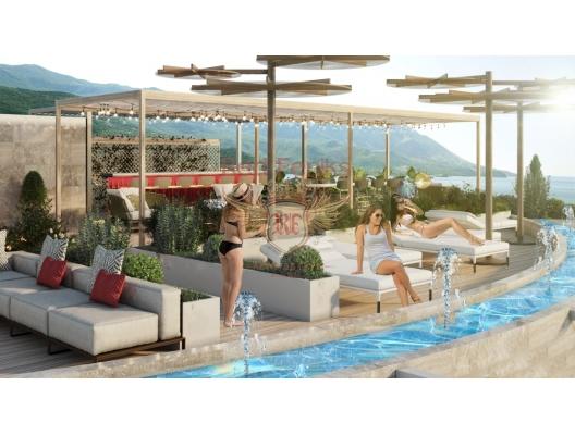 Becici'de zarif bir butik kompleksinde daireler, Karadağ'da satılık yatırım amaçlı daireler, Karadağ'da satılık yatırımlık ev, Montenegro'da satılık yatırımlık ev