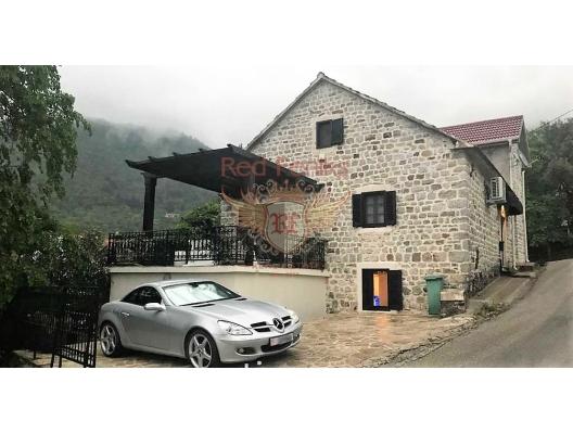 Renovated luxury old stone house near Porto Montenegro for sale, Montenegro real estate, property in Montenegro, Region Tivat house sale