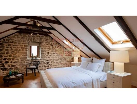Porto Montenegro yakınlarında satılık yenilenmiş lüks eski taş ev, Bigova satılık müstakil ev, Bigova satılık müstakil ev, Region Tivat satılık villa