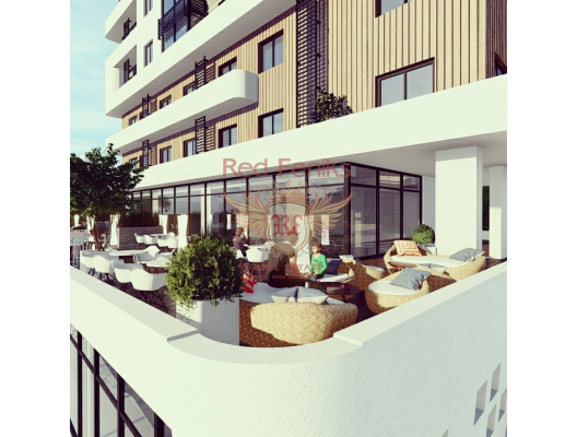 Apartments in a new building near the sea in Bar, apartment for sale in Region Bar and Ulcinj, sale apartment in Bar, buy home in Montenegro