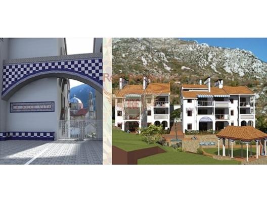 Morinj'de Deniz Manzaralı Kentsel Arsa, Karadağ Arsa Fiyatları, Budva da satılık arsa, Kotor da satılık arsa