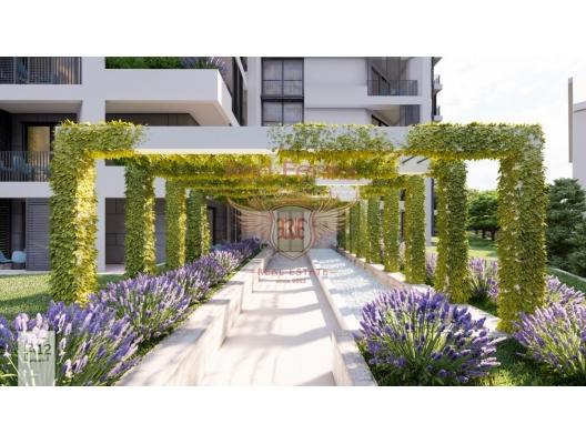 Rafailovici'de Yeni Konut Kompleksi 2+1, karadağ da kira getirisi yüksek satılık evler, avrupa'da satılık otel odası, otel odası Avrupa'da