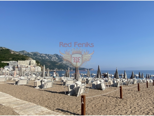 Hotel residences for sale in Montenegro, Becici, hotel in Montenegro for sale, hotel concept apartment for sale in Becici