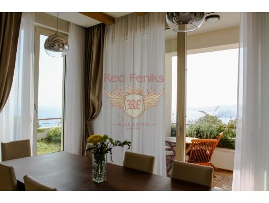 Blizikuce'de Mükemmel Panoramik Deniz Manzaralı Villa, Karadağ da satılık havuzlu villa, Karadağ da satılık deniz manzaralı villa, Becici satılık müstakil ev