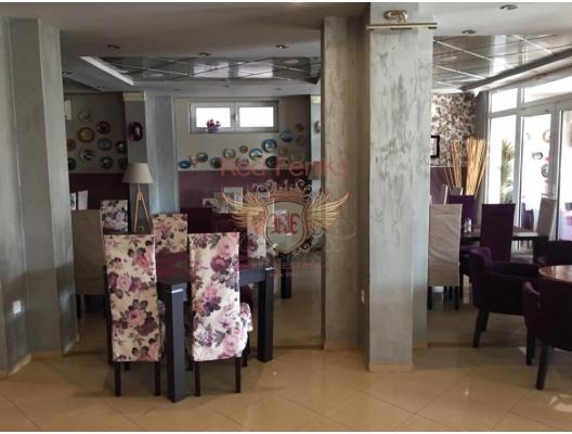 Denize Yakın Harika Restoran, karadağ da satılık dükkan, montenegro satılık cafe