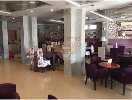 Denize Yakın Harika Restoran, montenegro da satılık otel, montenegro da satılık işyeri, montenegro da satılık işyerleri