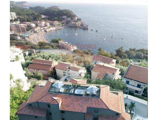 New Residential Complex in Przno, Karadağ satılık evler, Karadağ da satılık daire, Karadağ da satılık daireler