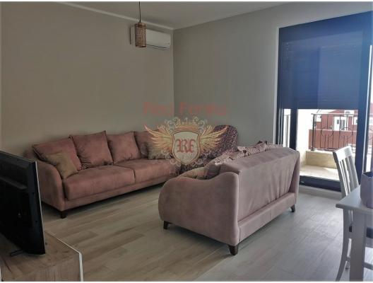 Tivat'ta Deniz Manzaralı İki Yatak Odalı Daire, Karadağ satılık evler, Karadağ da satılık daire, Karadağ da satılık daireler