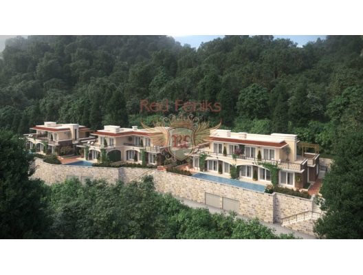 Yeni proje: Orachovec'deki villalar ve kasaba evleri, Karadağ satılık ev, Karadağ satılık müstakil ev, Karadağ Ev Fiyatları