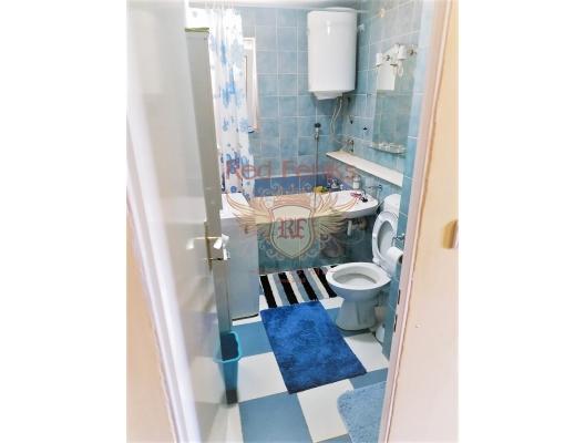 Boka koyunda deniz manzaralı iki yatak odalı daire, Dobrota da satılık evler, Dobrota satılık daire, Dobrota satılık daireler