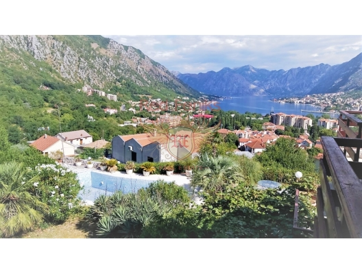 Magnificent villa in the Bay of Kotor, house near the sea Montenegro