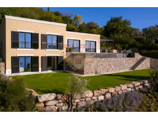 Luxury furnished villa with a pool and sea views in Tivat SOLD, Montenegro real estate, property in Montenegro, Region Tivat house sale