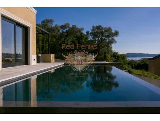 Luxury furnished villa with a pool and sea views in Tivat SOLD, buy home in Montenegro, buy villa in Region Tivat, villa near the sea Bigova