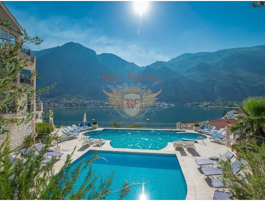 For sale the apartments which are located on the ground floor in a residential complex in Muo, Kotor.