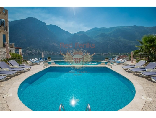 Two bedroom apartment for sale in complex, Muo, hotel residences for sale in Montenegro, hotel apartment for sale in Kotor-Bay