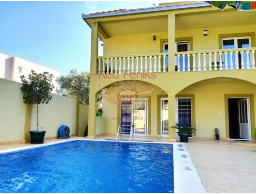 New house for sale with swimming pool in Bar.