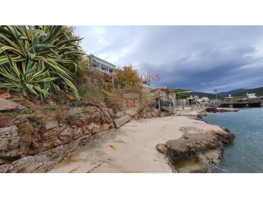 Project of a luxury villa on the first line in Bigova, hotel in Montenegro for sale, hotel concept apartment for sale in Bigova