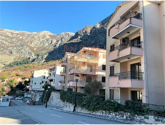 New Two Bedroom Apartment with a Sew View in Risan, hotel in Montenegro for sale, hotel concept apartment for sale in Dobrota