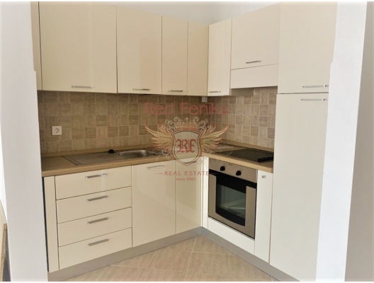 New Two Bedroom Apartment with a Sew View in Risan, investment with a guaranteed rental income, serviced apartments for sale