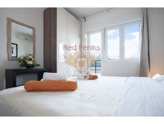 Modern villa with a pool and sea views in Krasici, buy home in Montenegro, buy villa in Lustica Peninsula, villa near the sea Krasici