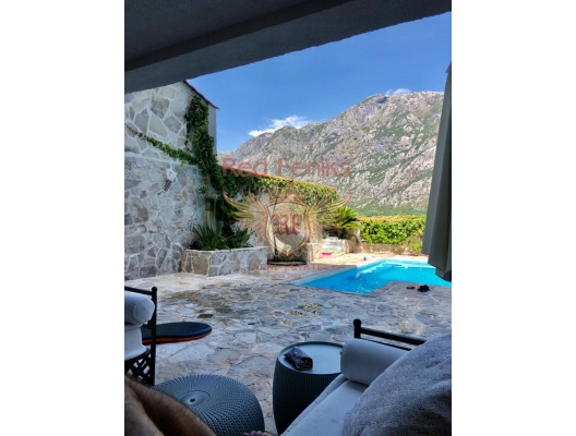New Villa with a pool and sea views in Boka Bay, Dobrota house buy, buy house in Montenegro, sea view house for sale in Montenegro
