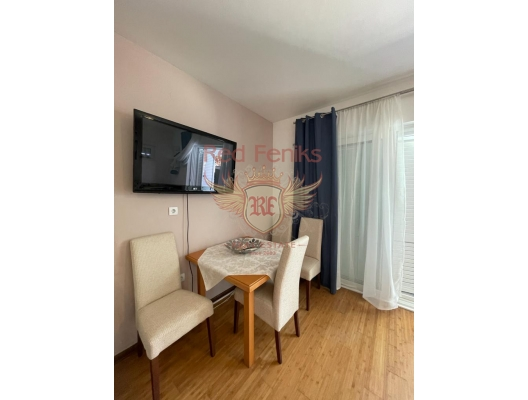 Beautiful apartment with a pool and separate bedroom in Herceg Novi, apartments for rent in Baosici buy, apartments for sale in Montenegro, flats in Montenegro sale