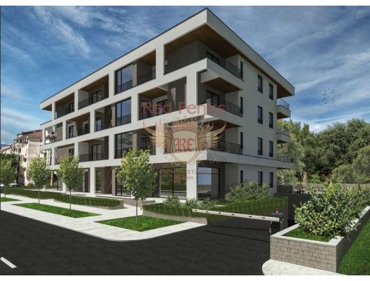 Apartments in a new residential complex in Tivat, Montenegro real estate, property in Montenegro, flats in Region Tivat, apartments in Region Tivat