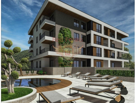 Apartments in a new residential complex in Tivat, apartments in Montenegro, apartments with high rental potential in Montenegro buy, apartments in Montenegro buy